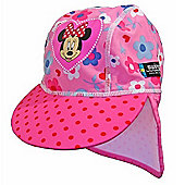 Disney Minnie Mouse UV Sun Hat 2 to 4 Years