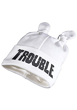 Spoilt Rotten - TROUBLE Baby Knot Hat