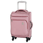 IT Luggage Megalite 4-Wheel Suitcase, Pink Small