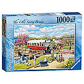 Ravensburger The Old Swing Bridge 1000 Piece Jigsaw Puzzle