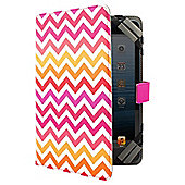 "Tesco Universal Tablet Case 7 to 8""(for Hudl, Kindle Fire/HD, iPad Mini, Samsung Tab) - Multi Chevron"