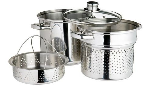Kitchen Craft Stainless Steel Pasta Pot