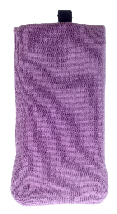 Works With Nokia Fabric Sock for Universal Smartphone Devices - Purple