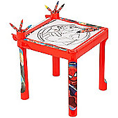 Ultimate Spiderman Colouring Table