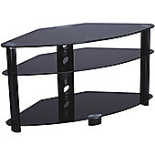 Iconic Black TV Stand with Black Legs for up 42 inch