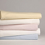 2 Pack Cot Bed Fitted Sheet - Blossom Pink 140cm x 70cm