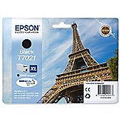 Epson T7021 2,400 Black High Ink Cartridge For Epson WorkForce Pro 4000 Series Printers