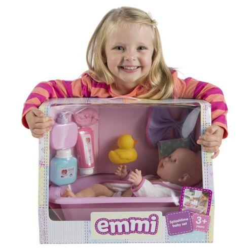 buy emmi bath baby set from our baby dolls range tesco. Black Bedroom Furniture Sets. Home Design Ideas