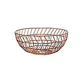 Linea Juxtapose Geometric Bowl Copper