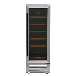 Russell Hobbs RHBI18WC1SS, Freestanding & Built in 18 Bottle Wine Cooler, Stainless Steel