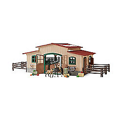 Schleich Horse stable with accessories