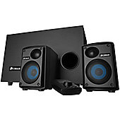 Corsair SP2500 Audio Series 232 Watt 2.1 PC Speaker System