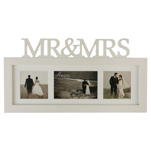 Mr & Mrs Triple Collage Frame