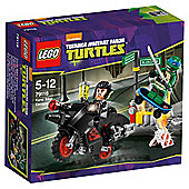 LEGO Teenage Mutant Ninja Turtles Karai Bike Escape 79118