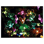 Tesco Butterfly Solar Line Light - 20pc