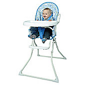 Red Kite Baby Highchair Feed Me Hello Ernest, Blue