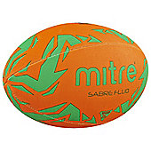 Mitre Sabre Fluo Rugby Ball