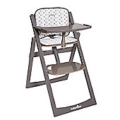 BabyMoov Decorative Cushion for Light Wood High Chair - Taupe