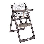 BabyMoov Decorative Cushion for Light Wood High Chair - Taupe