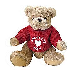 Gorgeous Wife Teddy Bear