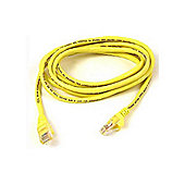 Belkin 15 m Cat6 Snagless STP Patch Cable - Yellow