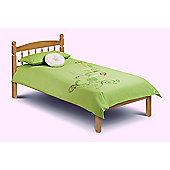 Pickwick 90cm 3FT Single Antique Pine Wooden Bed Frame