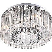 Home Essence Bandu 6 Light Ceiling Lamp