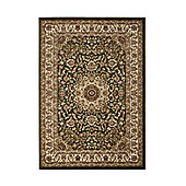 Think Rugs Regency Green/Beige Tranditional Rug - 160 cm x 220 cm (5 ft 3 in x 7 ft 3 in)