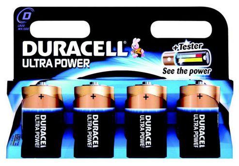 Duracell 81235530 Ultra Power 1.5V Alkaline Battery
