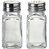 Parlane Classic Glass Salt and Pepper Shaker Set - 8.7 x 4cm