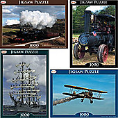 Toyrific 1000 Piece Transport Jigsaw
