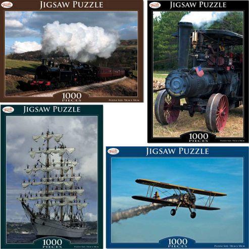 Toyrific 1000 Piece Transport Jigsaw