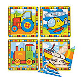 Bigjigs Toys BJ383 My First Transport Puzzles