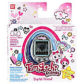 Tamagotchi Friend - Blue and Silver Gem