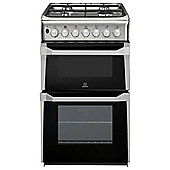 Indesit IT50D1X Cooker - Stainless Steel
