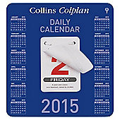 Collins Colplan Daily Block Calendar 2015