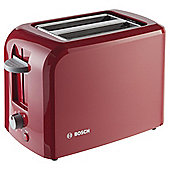 Bosch Village TAT3A014GB 2 Slice Toaster - Red