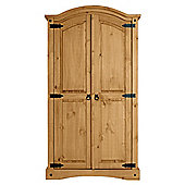Cordoba 2 Door Wardrobe, Solid Wood