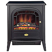 Dimplex CLB20N Club Optiflame Effect Electric Stove, 2000W - Matt Black