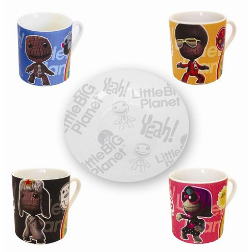 Little Big Planet Espresso Coffee Mugs