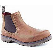 Wrangler Ladies Creek Chelsea Tan Ankle Boots
