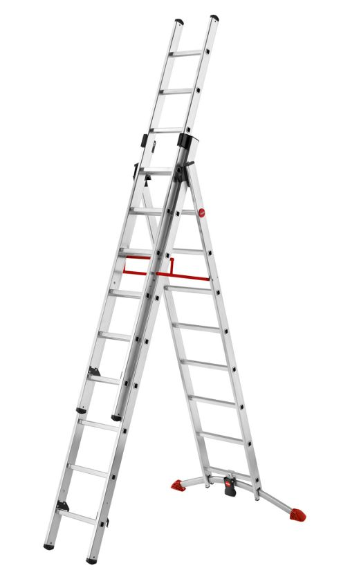 Hailo Profilot Aluminium Combination Ladder