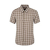 Weekender Shirt Mens Short Sleeve Cotton Lightweight Summer T-Shirt Tee Shirt - Green