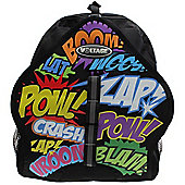 Voltage Cartoon Dual Inline Skate/Skateboard Backpack