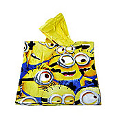 Despicable Me 'All Over Minions' Hooded Poncho Towel