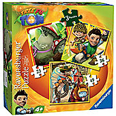 Tree Fu Tom 3-in-1 Jigsaw Puzzles - Ravensburger