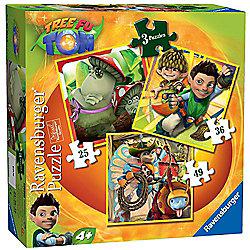 Tree Fu Tom 3-in-1 Jigsaw Puzzles - Ravensburger