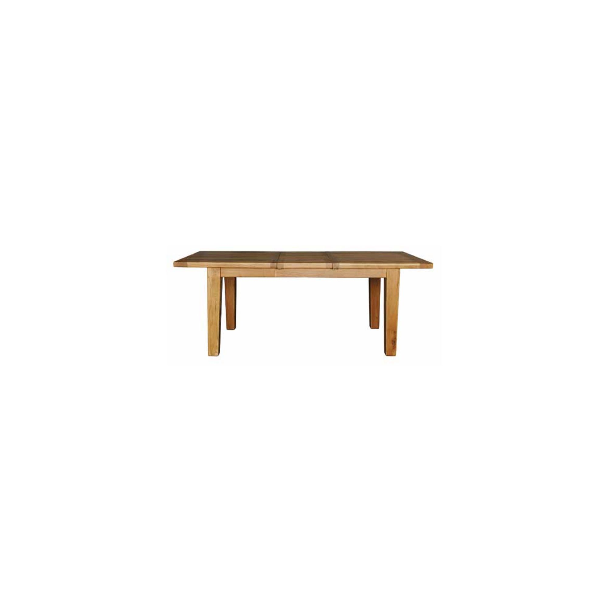 Hawkshead Calgary 193cm Extension Solid Oak Dining Table