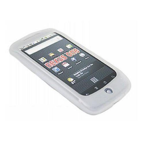 iTALKonline Silicone Case White - For HTC Google Nexus One