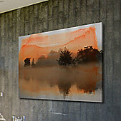 Parvez Taj Clear Water Wall Art - 76 cm H x 114 cm W x 5 cm D
